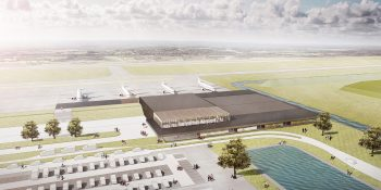 Lelystad Airport's new terminal